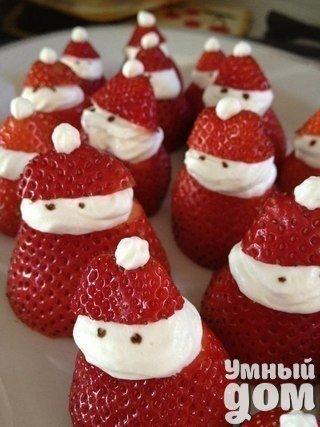 Сделайте милый Новогодний десерт. Он украсит любой праздничный стол! Умный дом — мастерская чудес!