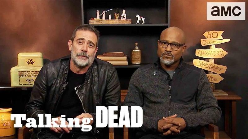 'Jeffrey Dean Morgan on Michonne's Visit to Negan' Highlights Ep. 904 | Talking Dead