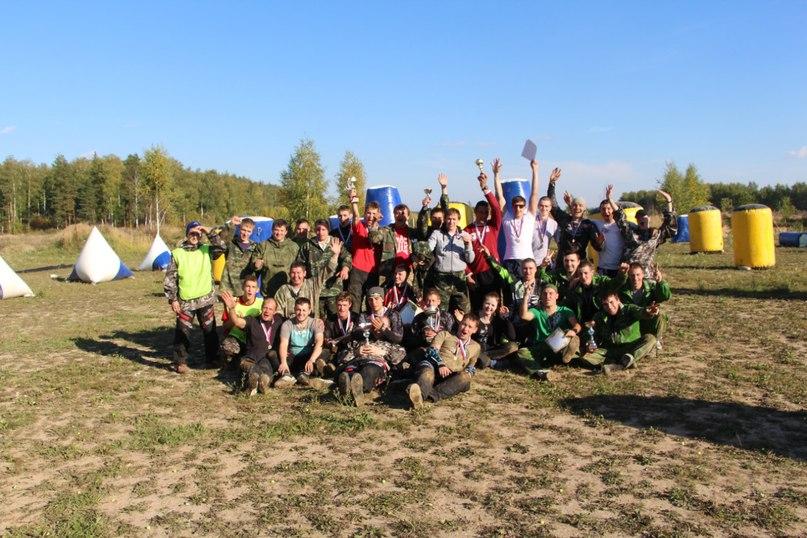 победа Ивановского клуба в пейнтбол