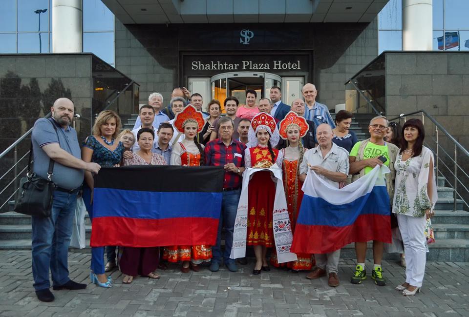 В рамках праздничных мероприятий Донецк посетили официальные делегации из Российской Федерации и Луганской Народной Республики