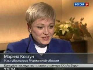 Ирина Россиус: Марина Ковтун - интервью. 07.04.2012