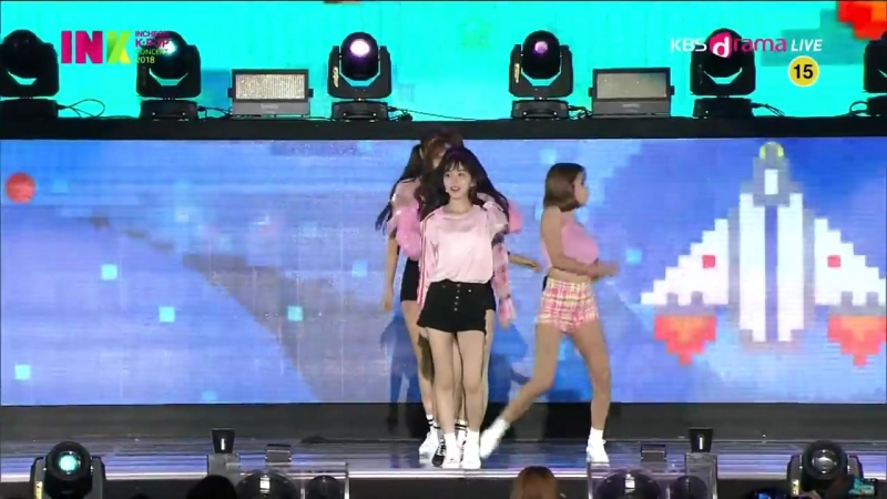 AOA (에이오에이) - Bingle Bangle (빙글뱅글) - INCHEON K-POP CONCERT 2018 (INK 2018) 20180901.mp4