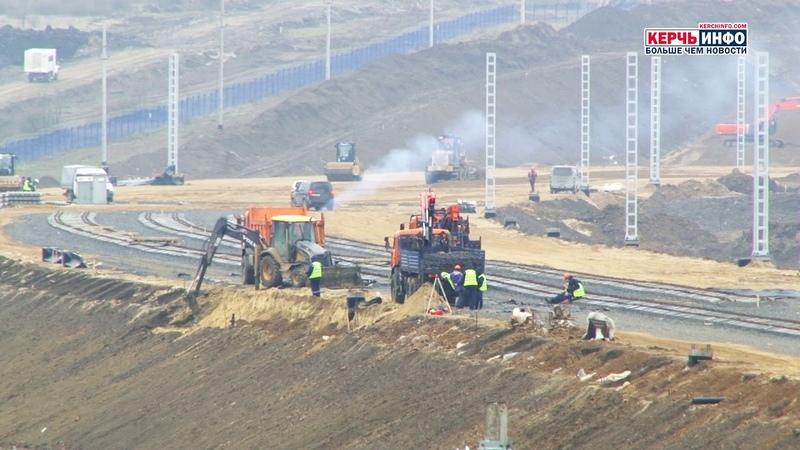 По Крымскому мосту первый поезд пройдет в августе