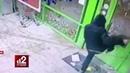 Когда трубы горят самое дерзкое ограбление Пятерочки попало на видео