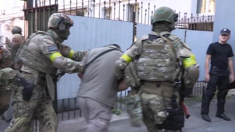 Антитеррористические учения подразделений СБУ Альфа МВД КОРД