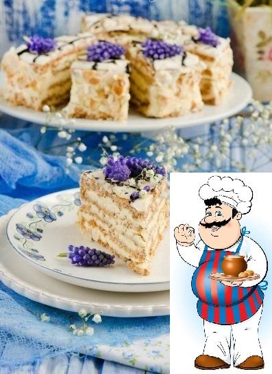 """Торт """"Эстерхази""""."""