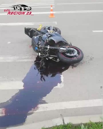 23 РЕГИОН — Краснодар™ Водитель «Четырки» не уступил мотоциклисту.