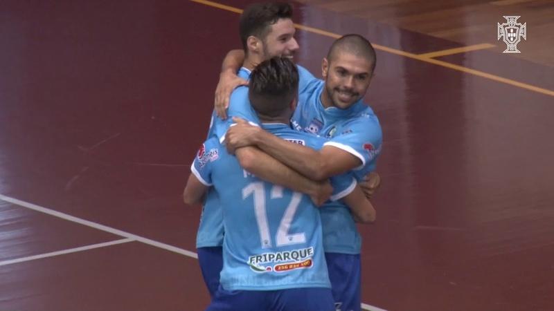Liga Sport Zone (3.ª jornada) Futsal Azeméis-SC Braga, 5-4