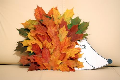 Поделки на тему осень с листьями
