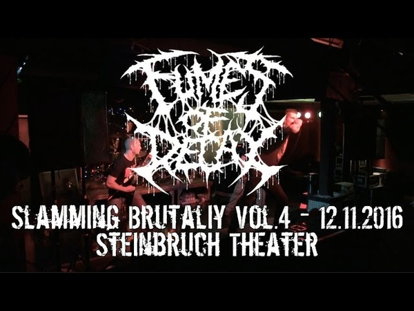 Fumes Of Decay Live @ Slamming Brutality Vol.4 Steinbruch Theater 12.11.2016 Dani Zed