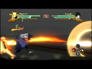 Naruto Ultimate Ninja Storm 3 Full Burst PC:Bijuu Mode Naruto, KCM/Generations Naruto Moveset Mod