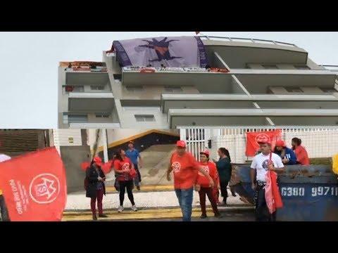 MTST de Guilherme Boulos invade o Triplex de Lula