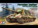 Сборка Jagdtiger от Tamiya. Масляные точки!И как их наносить!