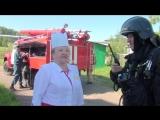 Пожарно - тактические учения в ЦРБ с. Большеустьикинское, Мечетлинский р-н