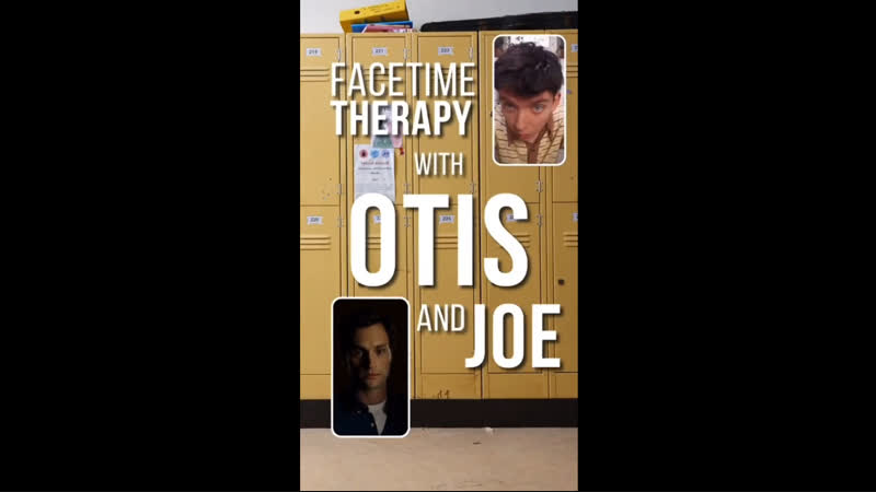 Facetime therapy with Otis and Joe