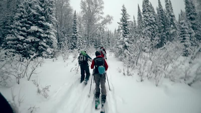 Ски-тур на Ивановский хребет