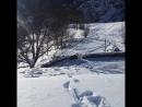 შატილი, 2016-17 წლის ზამთარი. Georgia, Khevsureti, Shatili 2016 year. winter.
