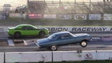 Old vs New Muscle Cars Drag Racing - Hellcat,Demon,Shelby,ZL1,Dodge Charger