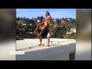 Dan Bilzerian Throws Naked Porn Star Off Roof - Breaks Her Foot