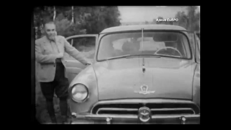 Архивные видеокадры. Юрий Николаевич Рерих