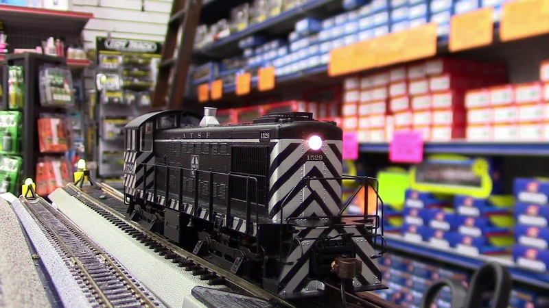 Bachmann HO Alco S4 Loco DCC Sound Value Equipped