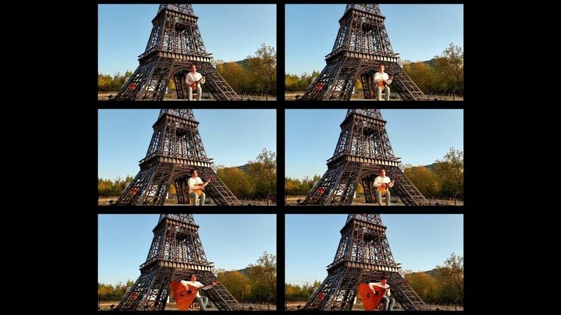 Yann Tiersen La valse d'Amelie кавер Три балалайки Андрея Кирякова