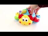 УМКА. Музыкальная игрушка Говорящий жук с песнями Шаинского из мультфильмов