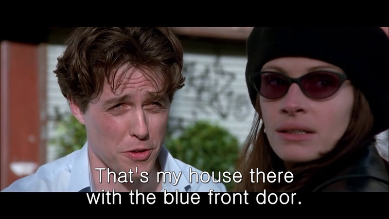 Learn English with Movies - Notting Hill 2 - It soaks.