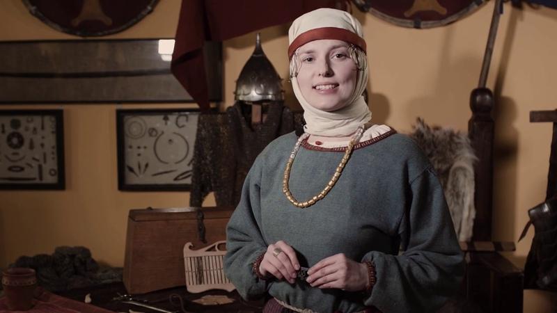 Славянский женский костюм в раннем средневековье