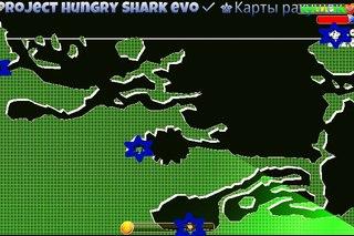 Как сделать карту в игре hungry shark