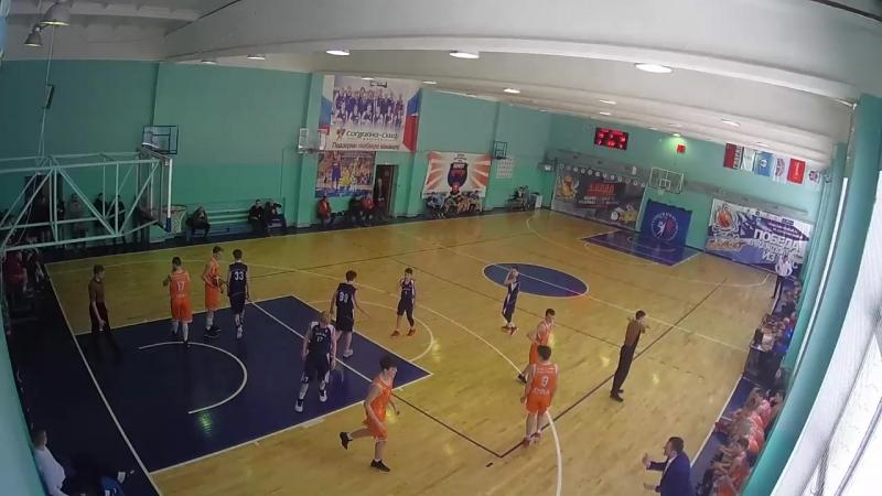 СШ ИВС Тула - Динамо Москва (50-43)
