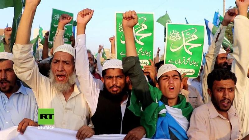 Pakistan: Wegen angeblicher Blasphemie - Protestler fordern Enthauptung der Christin Asia Bibi