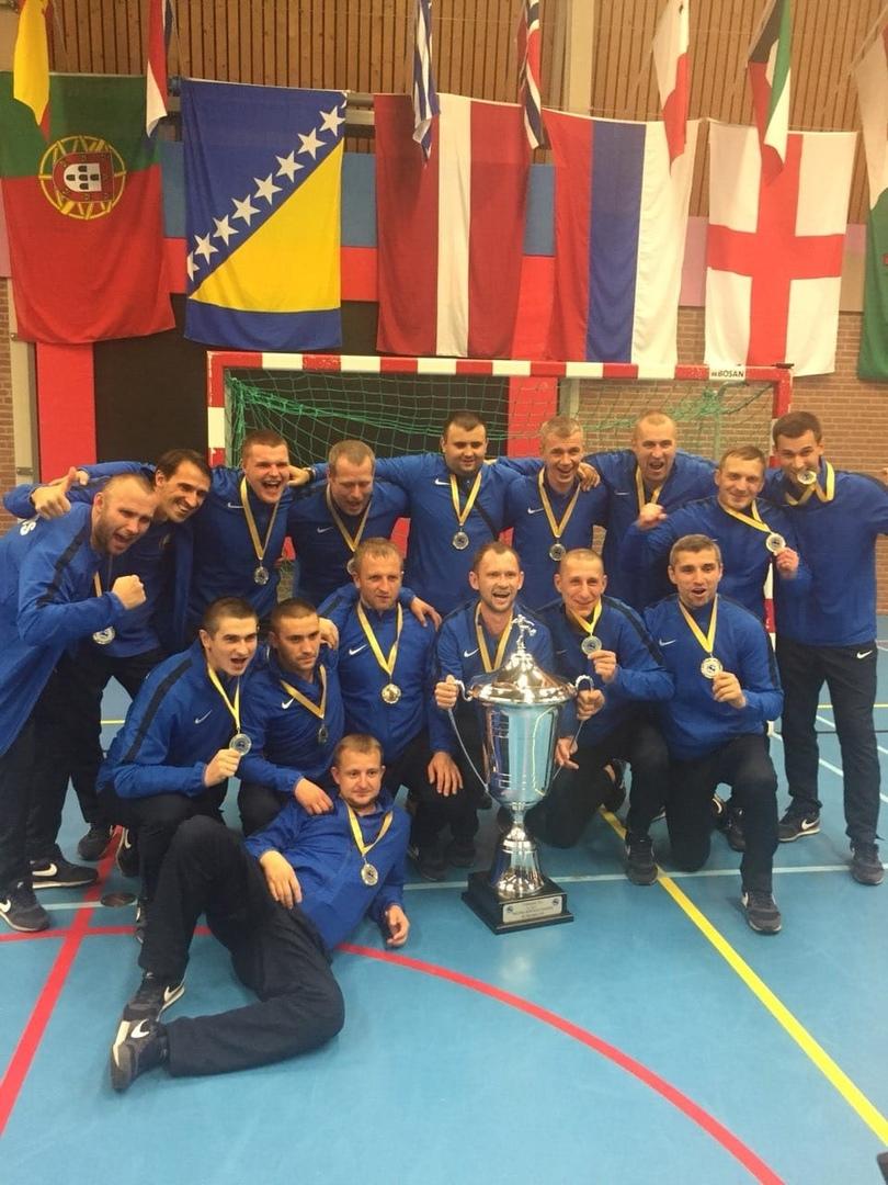 Сборная Беларуси МВД - победители чемпионата мира среди полиции 2018!
