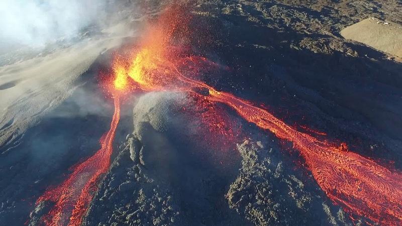Eruption 15 09 2018 - Piton de la Fournaise (Réunion Island)