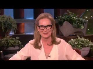 Meryl Streep on The Ellen DeGeneres Show 2014