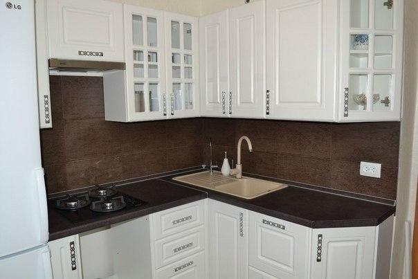 Идея для небольшой кухни (1 фото) - картинка