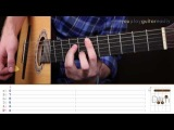 ��� ������ �� ������ Gorillaz - Feel Good Inc. (Guitar tutorial)