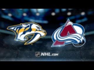 NHL | НХЛ | Хоккей | Обзор Матча Колорадо - Нэшвилл