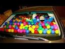 Ночь в ЗАБИТОЙ машине шарами.... Как оттуда выбраться 7 kdy