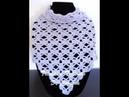 Crochet: Pañuelo en Punto Combinado 30