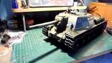 116 SU-152 Cannon Firing Recoil