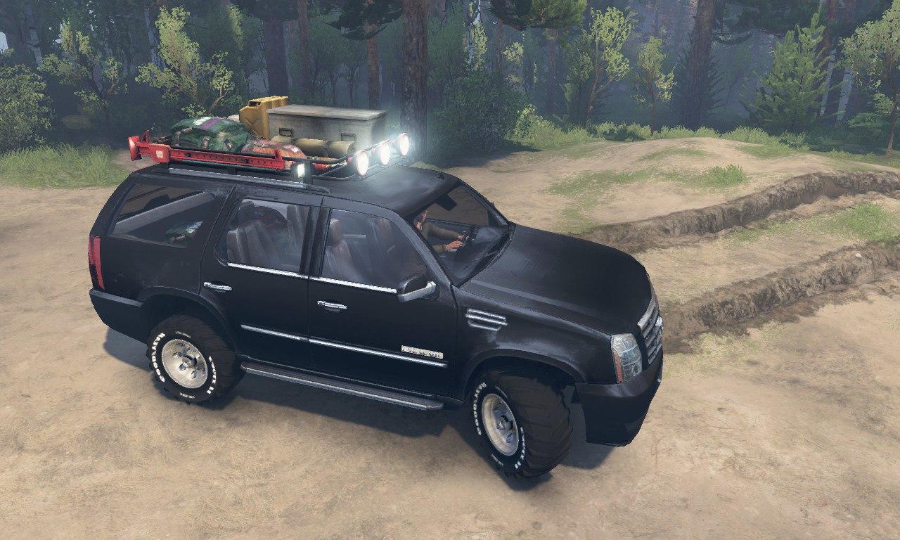 Cadillac Escalade для 03.03.16 для Spintires - Скриншот 1