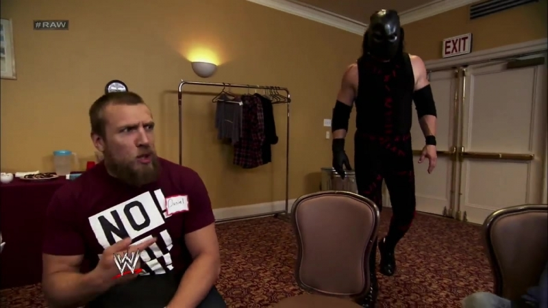 Kane in management class Raw 08 27 2012