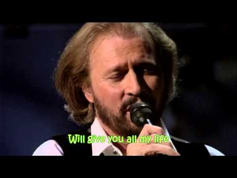 Bee Gees - Words (with lyrics)