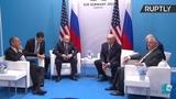 Трамп поет песню Земфиры на встрече с Путиным