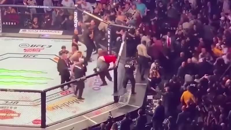 Khabib Nurmagomedov vs Conor MacGregor
