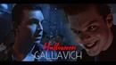 GALLAVICH | Halloween au | dysfunctional
