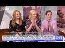 Lea Thompson Madelyn and Zoey Deutch on New York Live rus sub