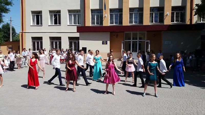 Выпускной вальс 9-А класс.школа 45.выпуск 2018