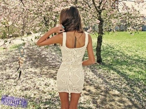 Фото платьев вид со спины